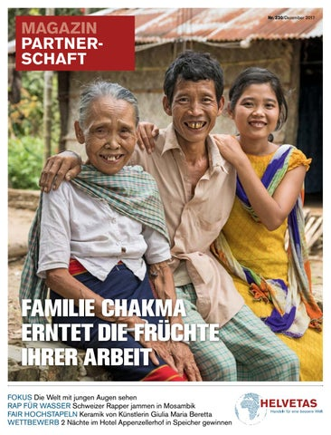 Helvetas Partnerschaft #230 Dezember 2017 Familie Chakma Erntet Die ...