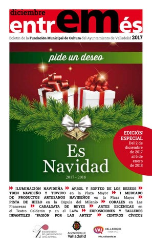 9639fb42a diciembre Boletín de la Fundación Municipal de Cultura del Ayuntamiento de  Valladolid 2017