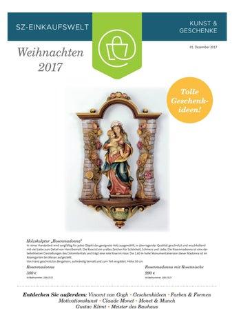Sz Einkaufswelt 01 12 2017 By Saarbrücker Verlagsservice Gmbh Issuu