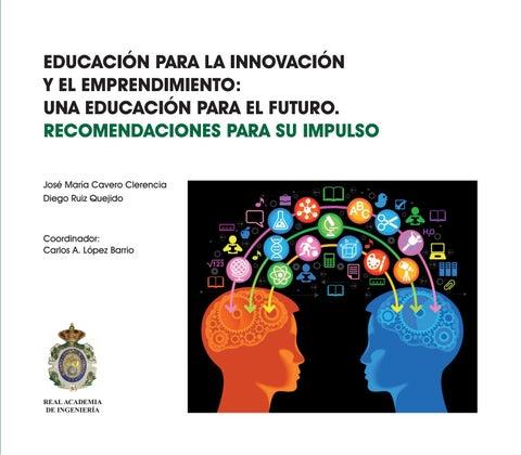 0b5bcc04b Educación para la innovación y el emprendimiento: una educación para ...