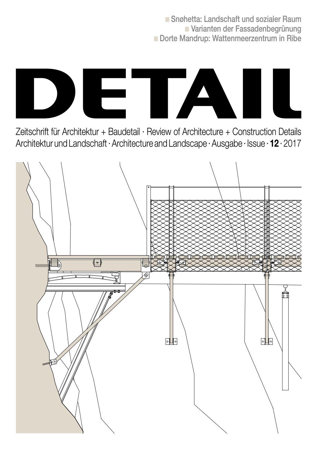 Detail 12 2017 Architektur Und Landschaft Architecture