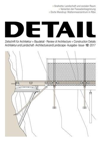 Detail 12 2017 Architektur Und Landschaft Architecture And