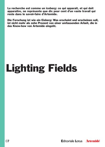 Lighting Fields 7 - 2017 FR/DE by Artemide - issuu