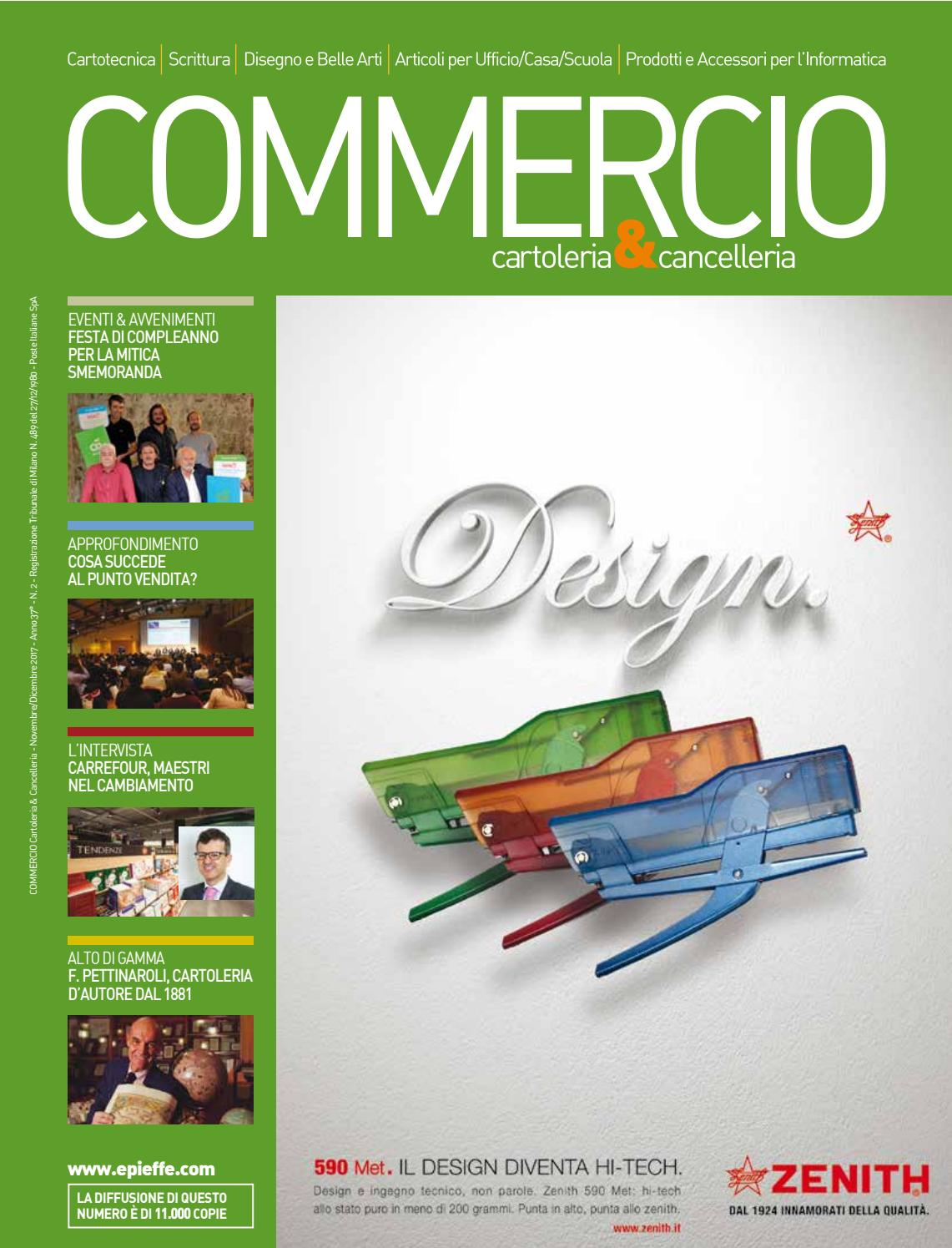 Commercio Cartoleria   Cancelleria Novembre Dicembre 2017 by COMMERCIO  Cartoleria   Cancelleria - issuu 3309f3abc50