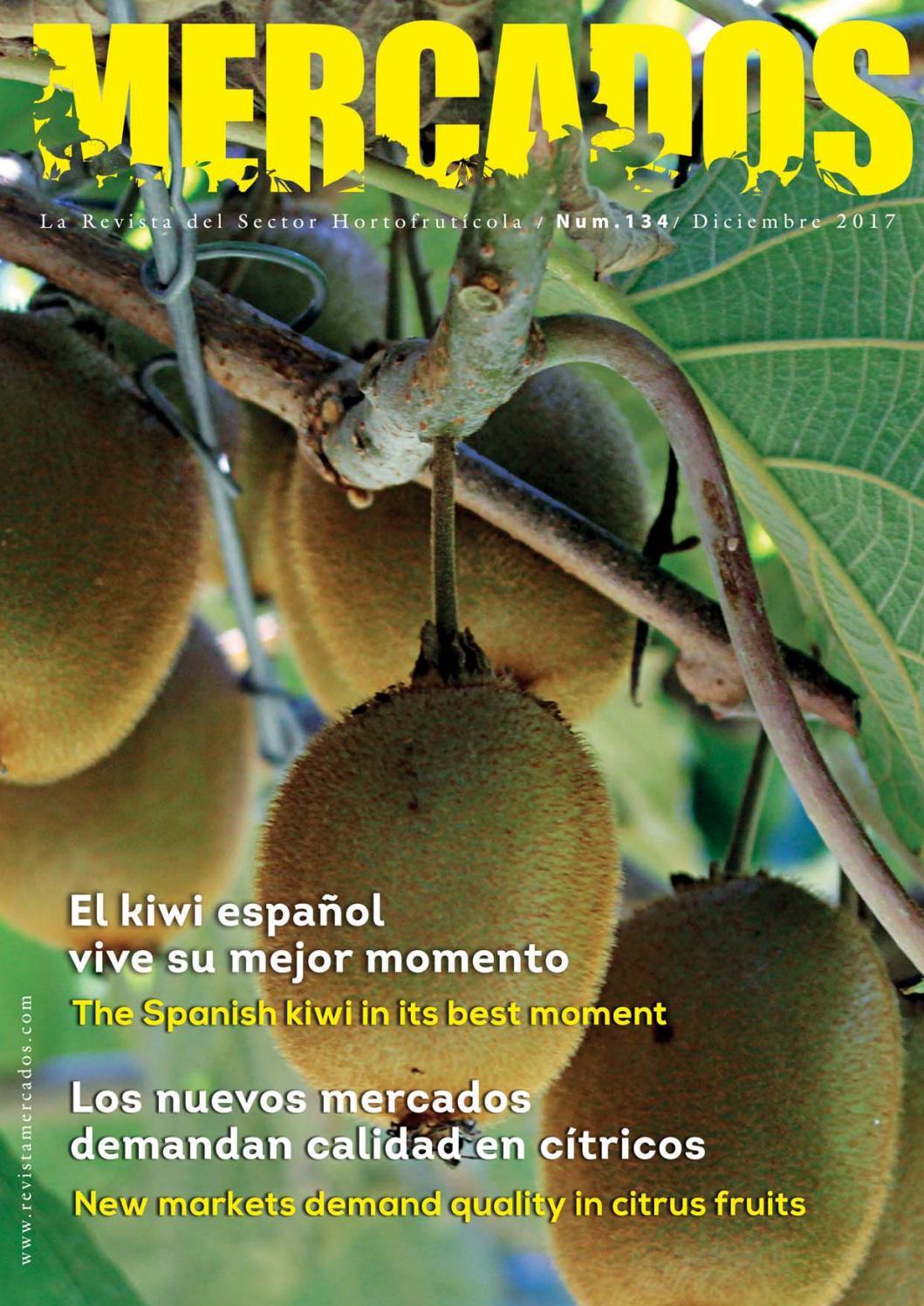 Revista Diciembre 2017. Nº 134 by Revista Mercados - issuu 1131aacd08b95
