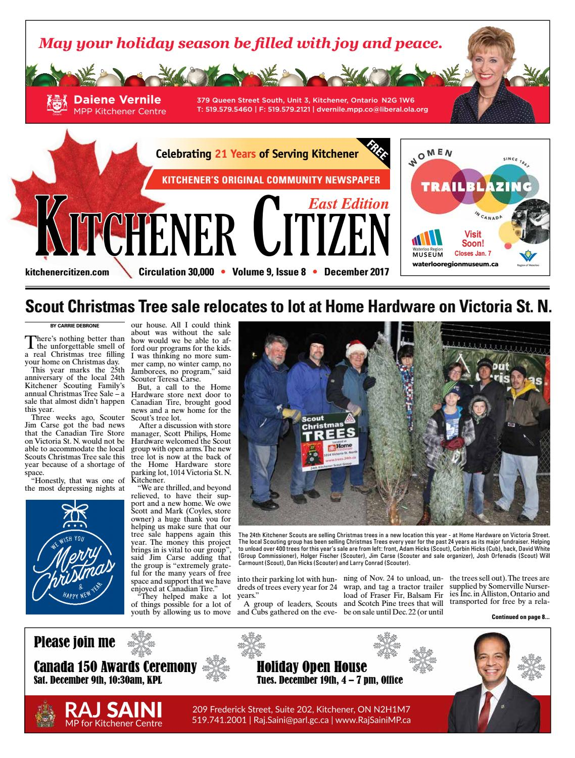 Kitchener Citizen - East Edition - December 2017 by Kitchener ...