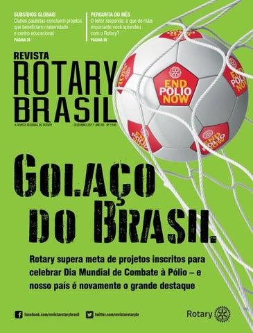 7a7199dc83445 Revista Rotary Brasil - Dezembro de 2017 by Revista Rotary Brasil ...