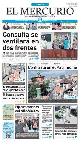 8cf39e66a17f hemeroteca 01-12-2017 by Diario El Mercurio Cuenca - issuu
