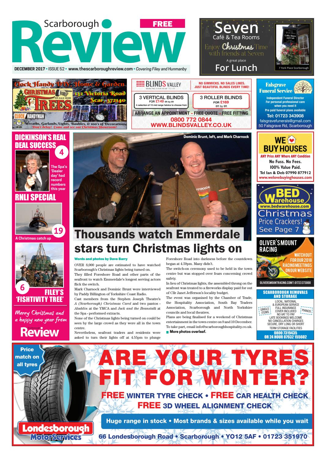 Scarborough Review December By Your Local Link Ltd Issuu