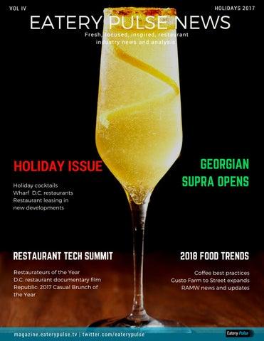 Eatery Pulse News for Restaurants | Holidays 2017 by Eatery