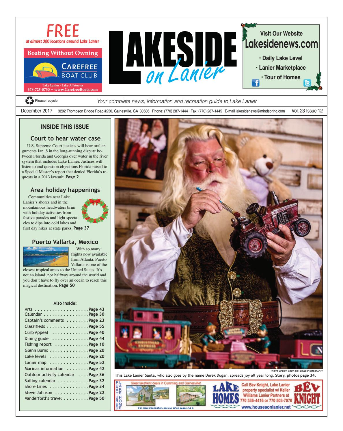 Lakesideonlanierdecember2017 by Lanier Publishing Inc  - issuu