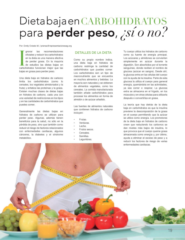 dieta baja en carbohidratos y baja en grasas para la diabetes