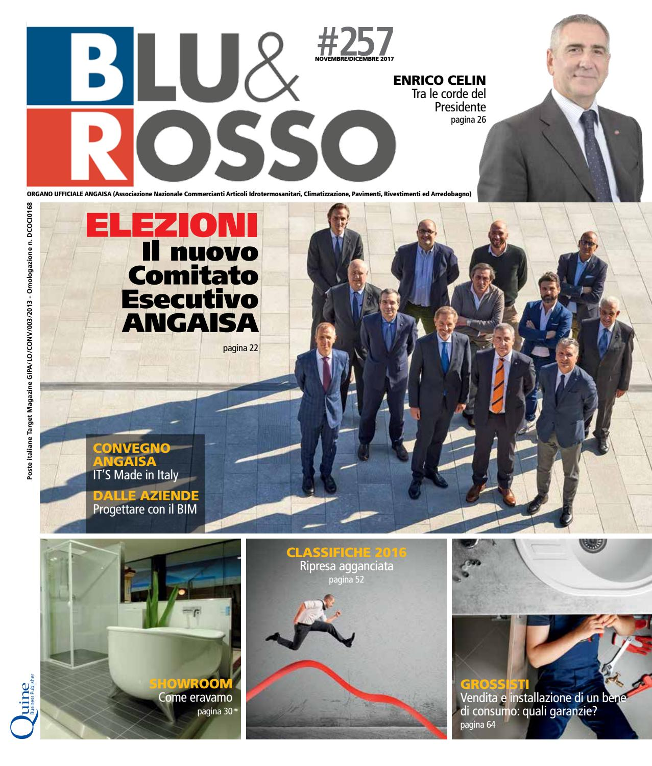 5b629edafe BLU&ROSSO n°257 - Novembre/Dicembre by Quine Business Publisher - issuu