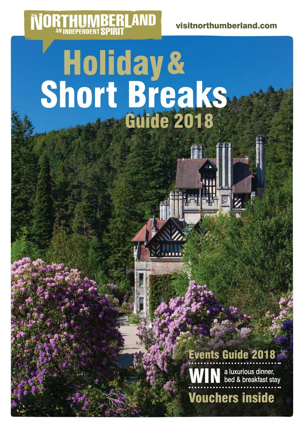 Northumberland Holiday and Short Breaks Guide 2018 by
