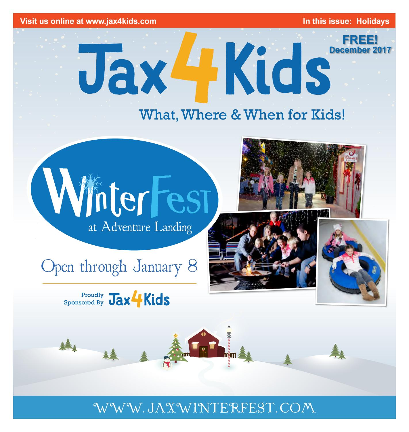Jax4kids December 2017 By Jax4kids Issuu