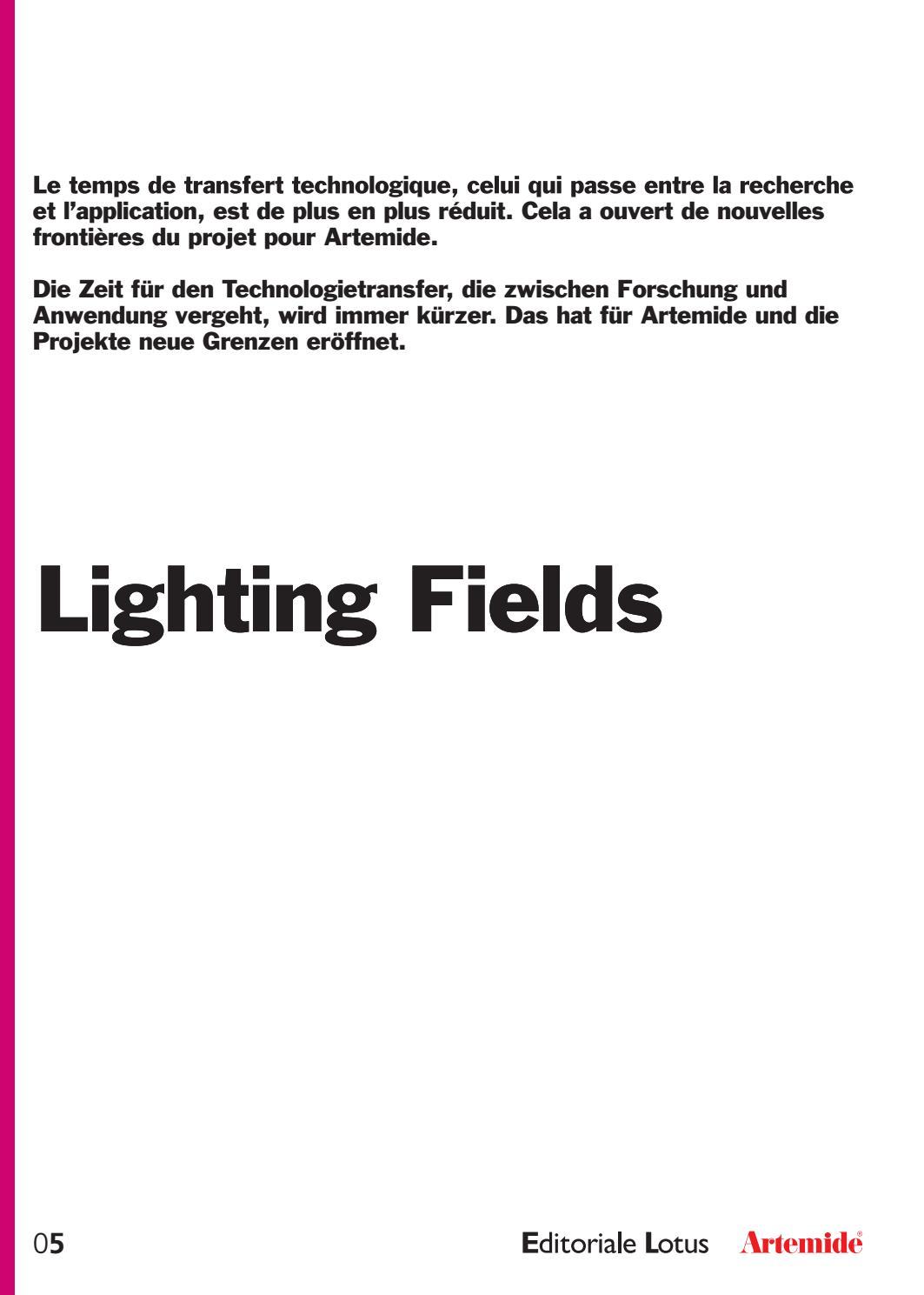 Lighting Fields 5 - 2016 FR/DE by Artemide - issuu