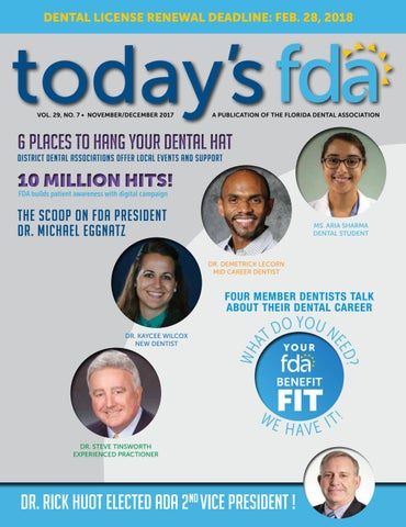 2017 - Nov/Dec TFDA by Florida Dental Association - issuu