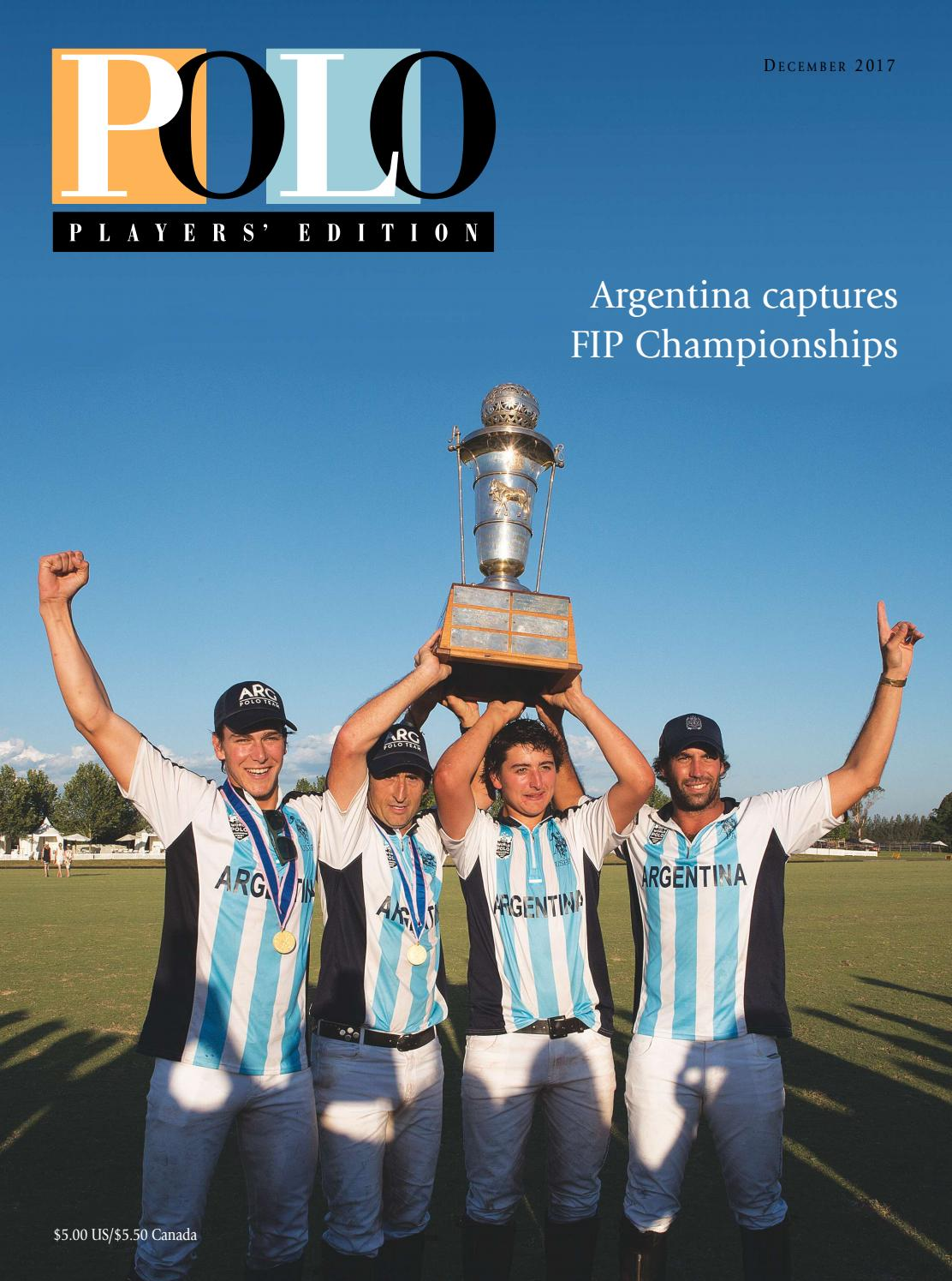 da0e90d2f749e December 2017 Polo Players  Edition by United States Polo ...