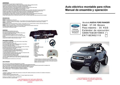 Manual De Usuario Ford Ranger Bjf650 By Importadora Sudamericana Issuu