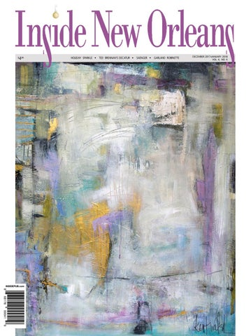 December 2017 January 2018 Issue Of Inside New Orleans By