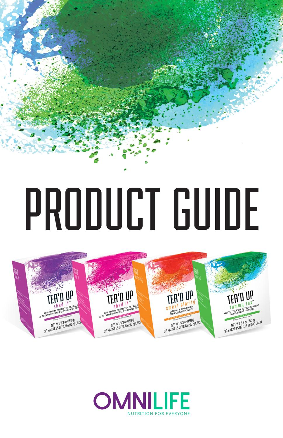 Product Guide 2017 – English by omnilife - issuu
