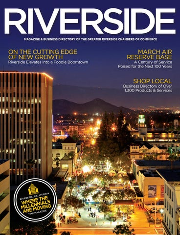 Greater riverside chambers of commerce magazine & business directory