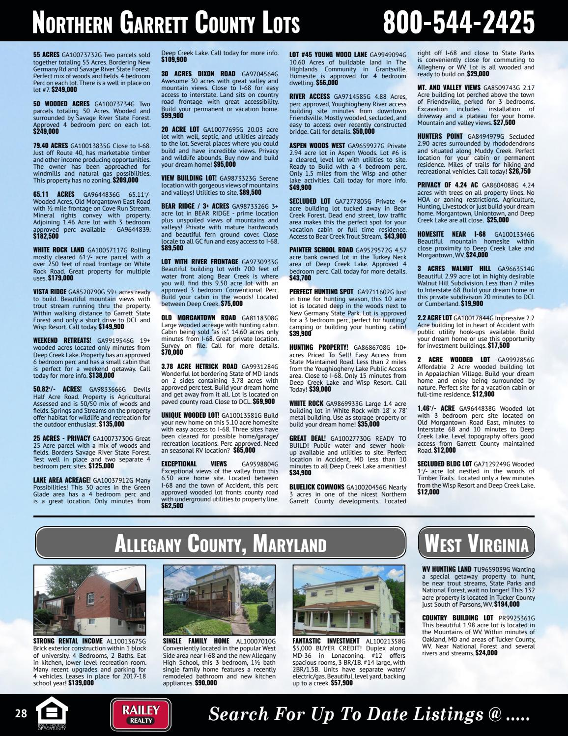 Railey Realty Winter & Spring 2018 Real Estate Guide