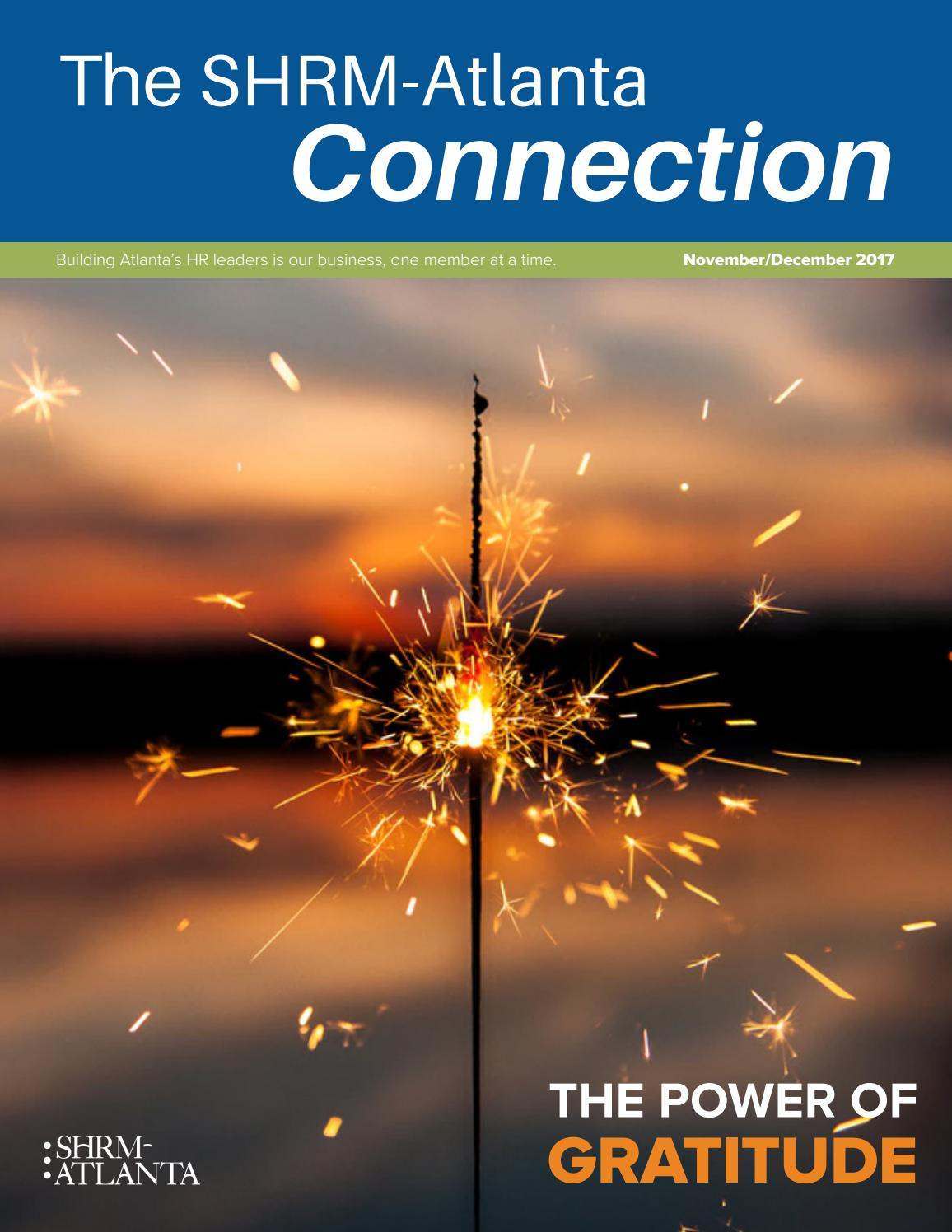 The Shrm Atlanta Connection Novdec 2017 By Shrm Atlanta Issuu