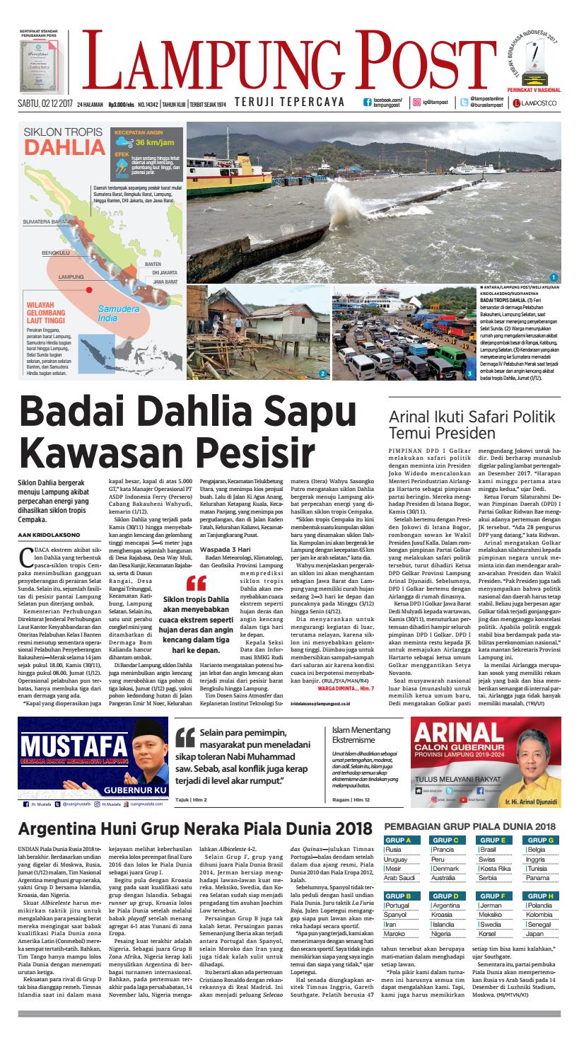 online store d67e3 e17b6 Lampung Post Sabtu, 2 Desember 2017 by Lampung Post - issuu