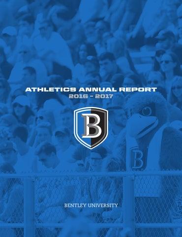 9b9bf2978 Bentley Athletics Annual 16 17 by Bentley University - issuu