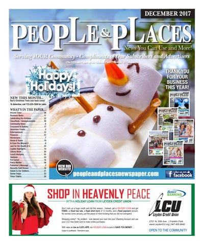 December 2017 People & Places Newspaper by Jennifer Creative - issuu