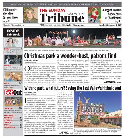 East Valley Tribune Chandler Tempe December 3 2017