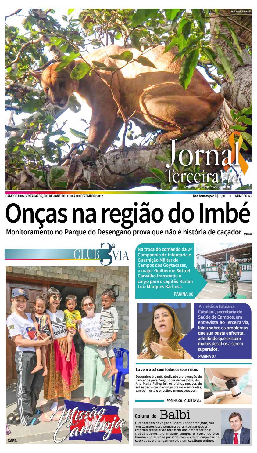 5bf9e40d1716b Jornalterceiravia edicao63 by terceiravia - issuu