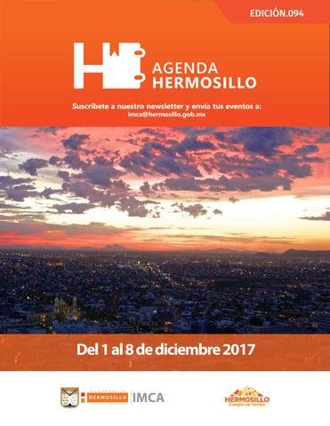 """Cover of """"Agenda Hermosillo 1 diciembre 2017"""""""