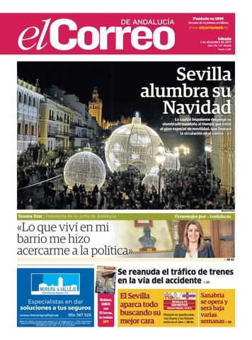 02.12.2017 El Correo de Andalucía by EL CORREO DE ANDALUCÍA S.L. - issuu