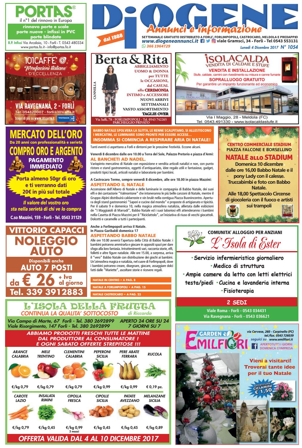 online retailer 1c4bd 315a0 Diogene Annunci 0412 by Diogene Annunci - issuu