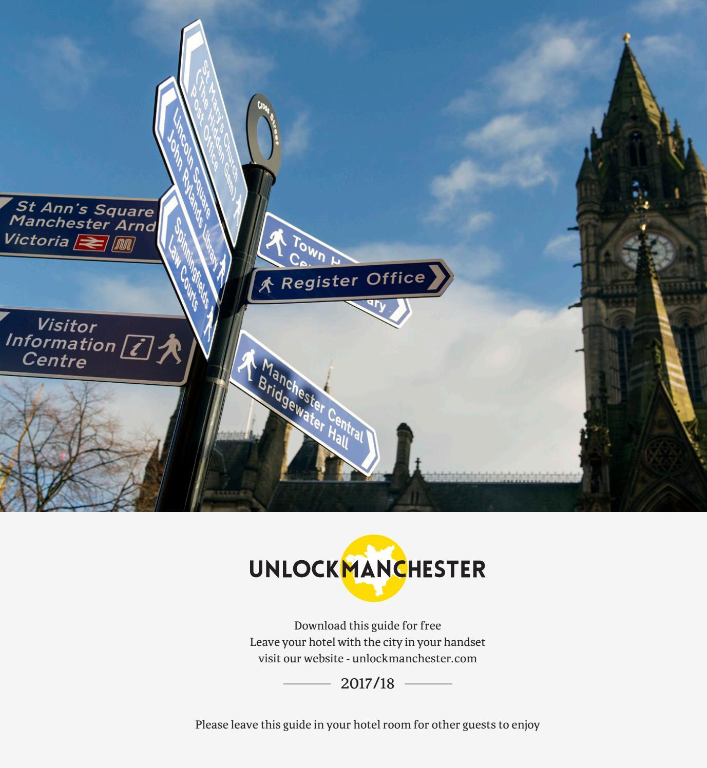 Unlock Manchester 2017 18 by unlock publishing - issuu
