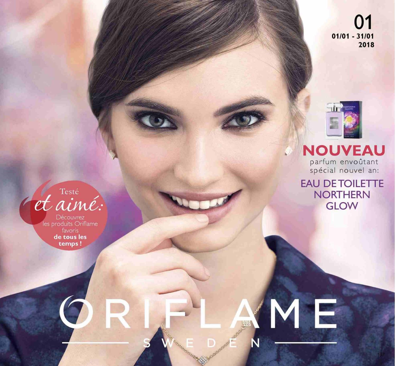 catalogue oriflame janvier 2018