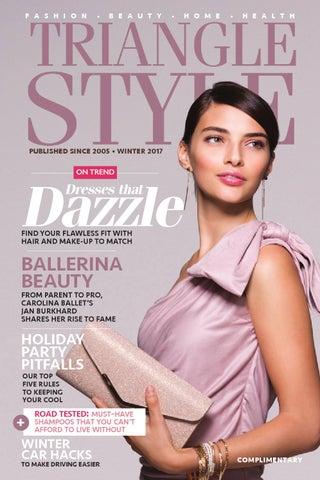 34720fb7915a Triangle Style Magazine - Winter 2017 by Triangle Style Magazine - issuu
