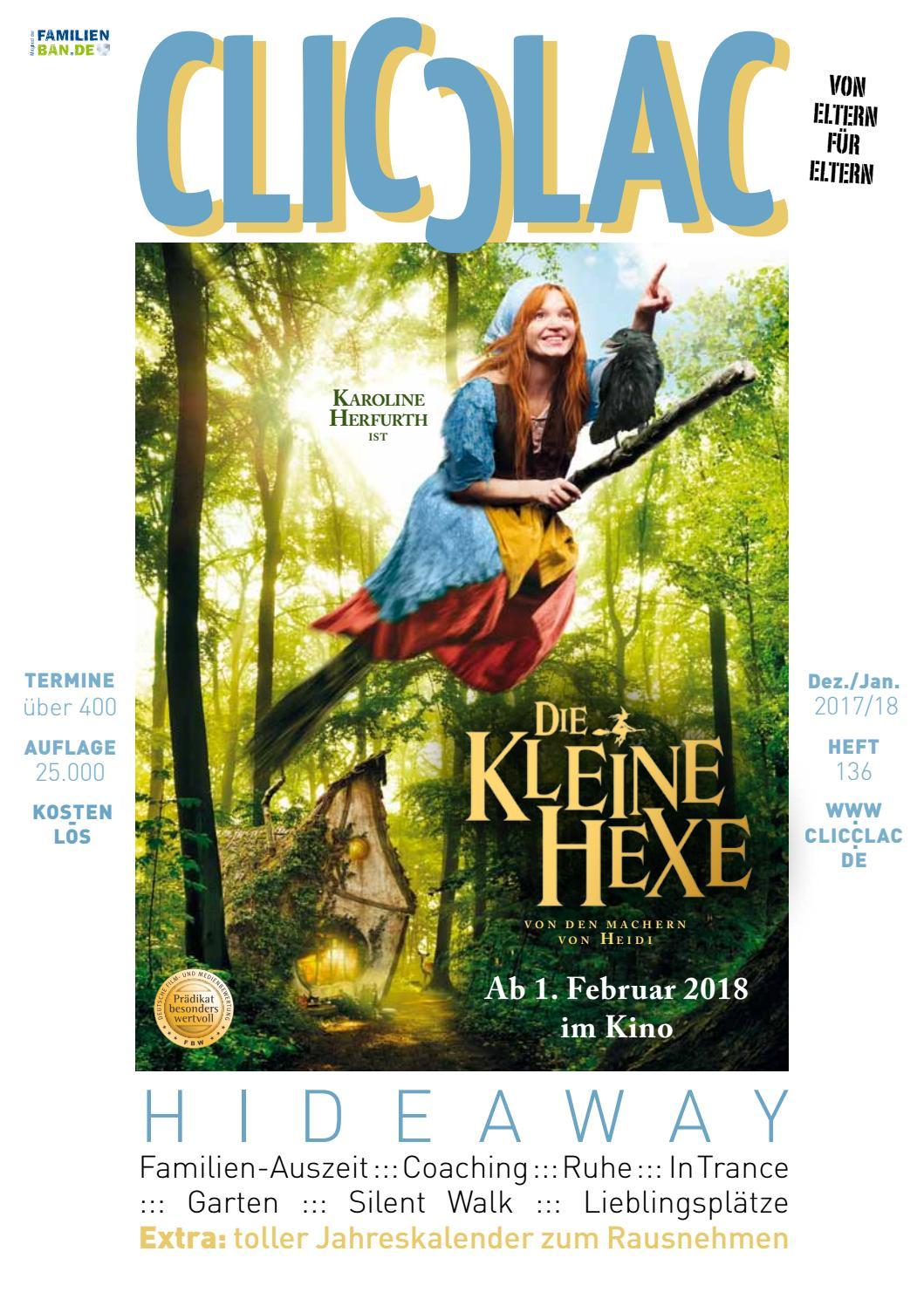 Clicclac   Dez. 2017 + Jan. 2018 By Clicclac   Stadtmagazin Für Familien    Issuu