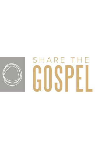 Bay Area Share The Gospel Workbook By Bay Area Community Church Issuu