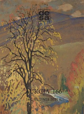 50b5636089b0ab Aukcja 166 - Malarstwo, grafika, rzemiosło artystyczne by DESA Sp. z ...