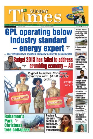 Guyanatimes 3 december 2017 by Gytimes - issuu