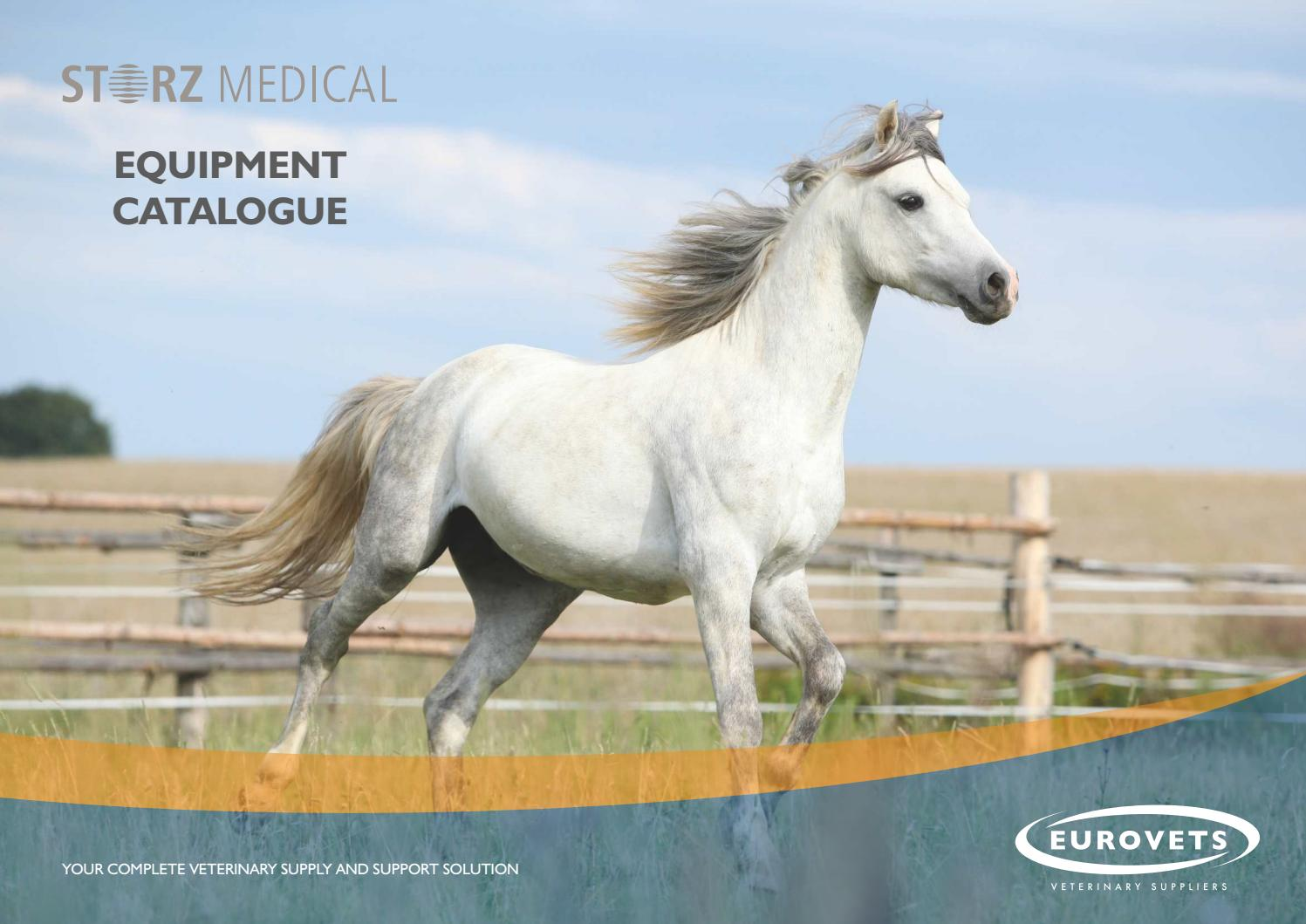 Storz Medical Equipment Catalogue by Eurovets Veterinary