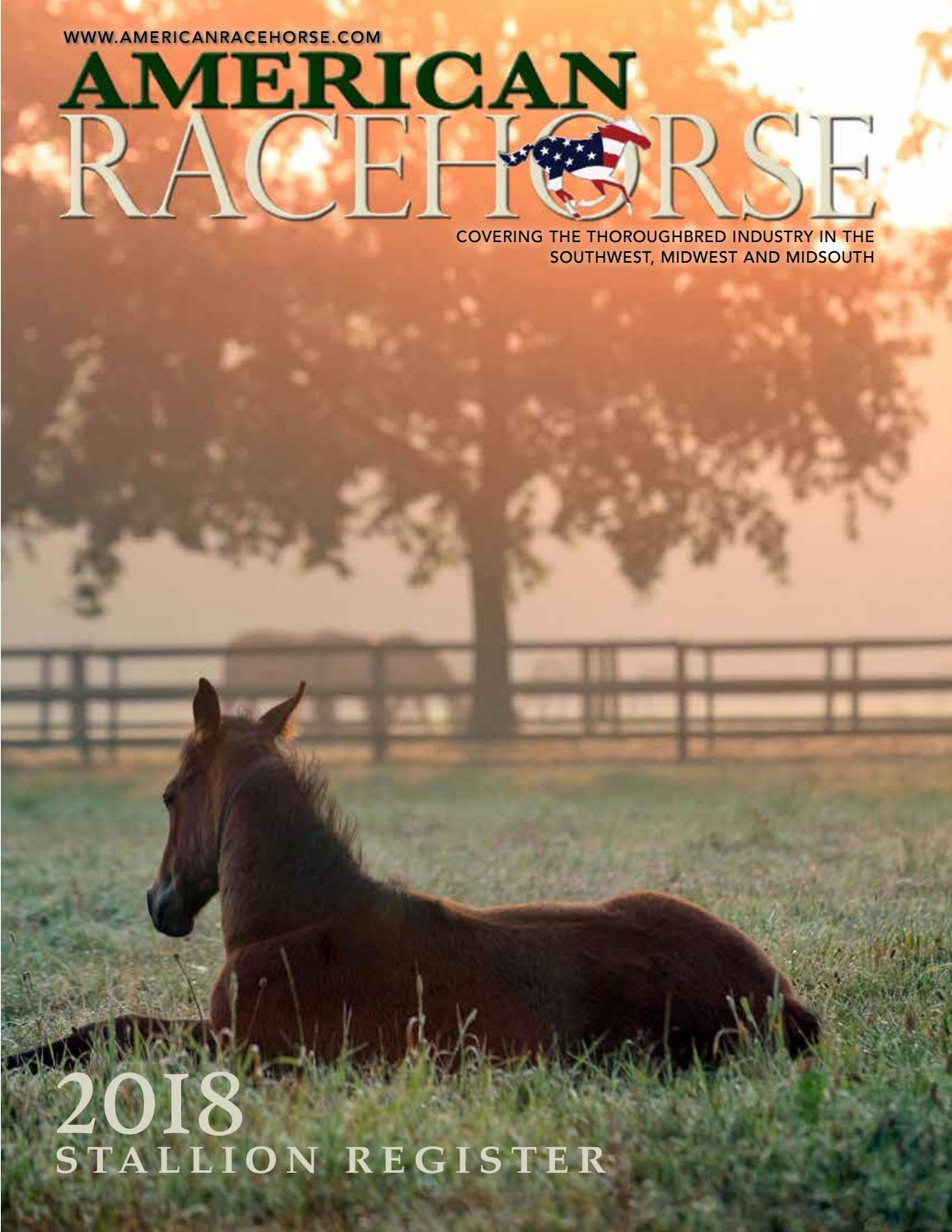 acf40dd6d08 2018 American Racehorse Stallion Register by American Racehorse (formerly  Southern Racehorse) - issuu