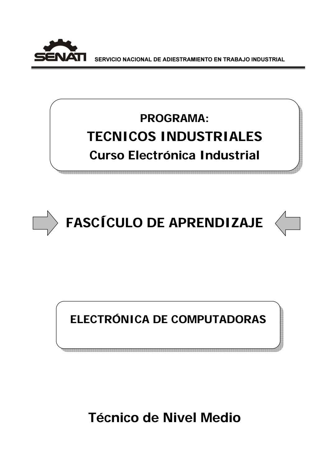 89000383 electronica de computadoras by Leonel Martinez Carrion - issuu