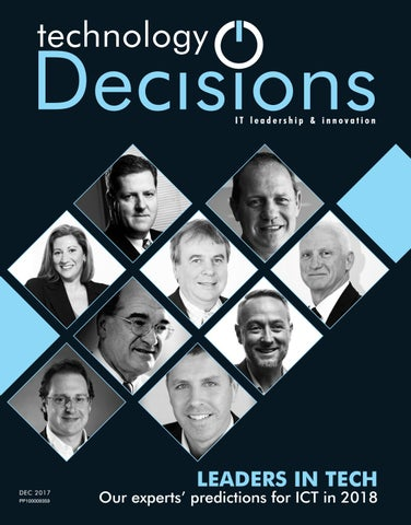 Technology Decisions December 2017 by Westwick-Farrow Media - issuu