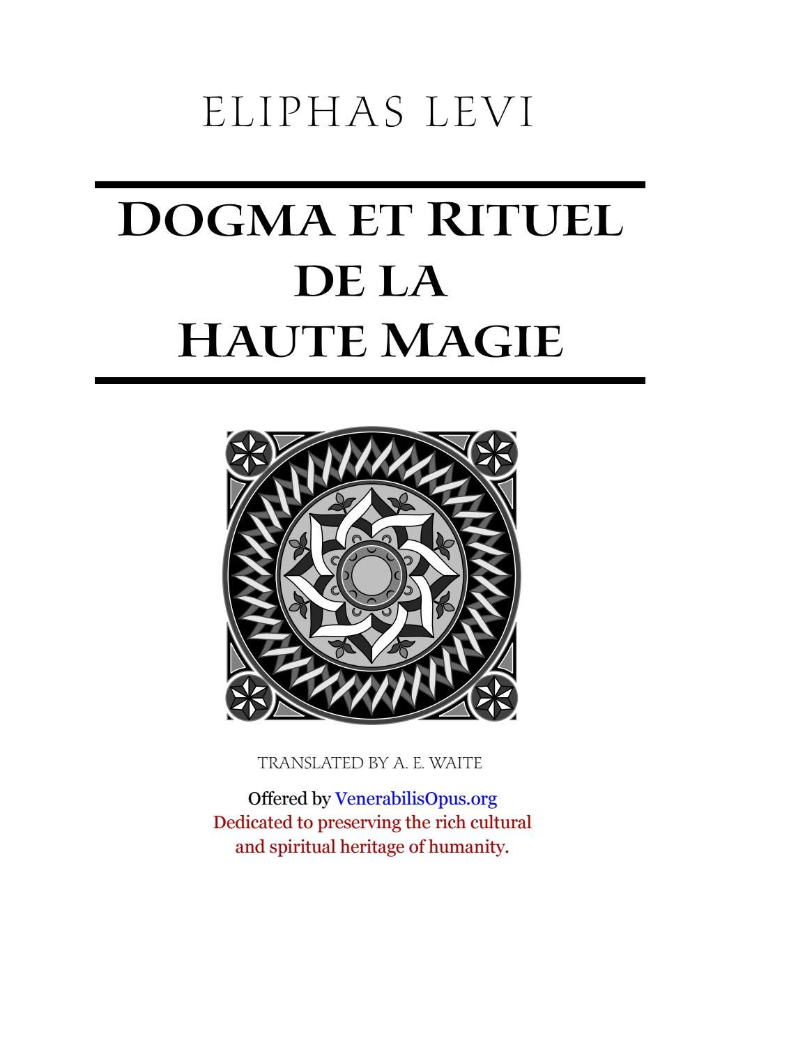 Peachy 130 Eliphas Levi Dogma And Ritual Of High Magic Part Ii By Gamerscity Chair Design For Home Gamerscityorg