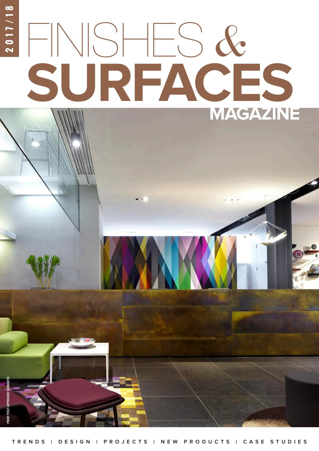 Finishes And Surfaces Magazine 2017 18 By Elite Publishing Co Pty 1995 Lt1 Wiring Harness Labeled Ltd Issuu