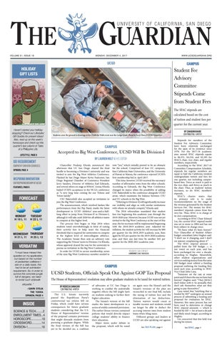 ucsd guardian 12 04 2017 by ucsd guardian issuu